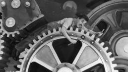 Tiempos modernos Charles Chaplin Charlot Modiband