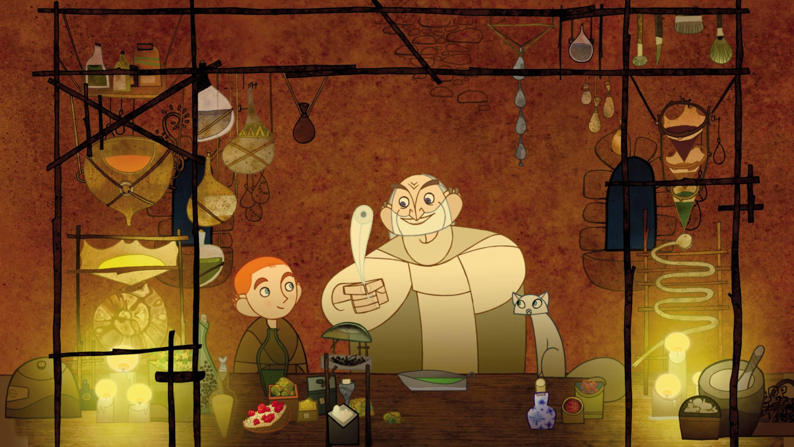 The Secret of Kells cine familiar infantil MODIband