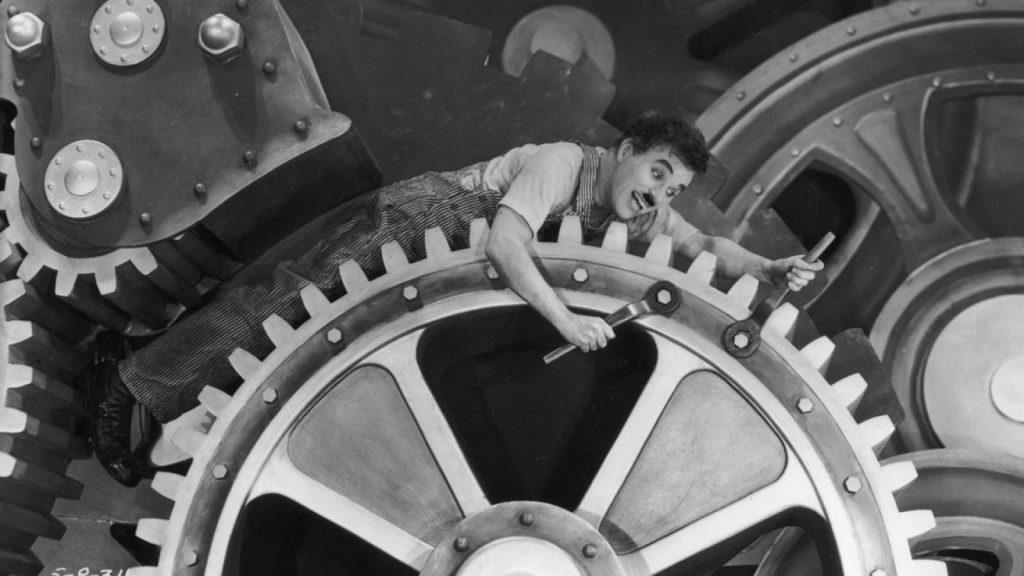 Modern Times Chaplin MODIband cine infantil familiar
