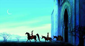 Azur y Asmar Michel Ocelot cine familiar infantil Modiband