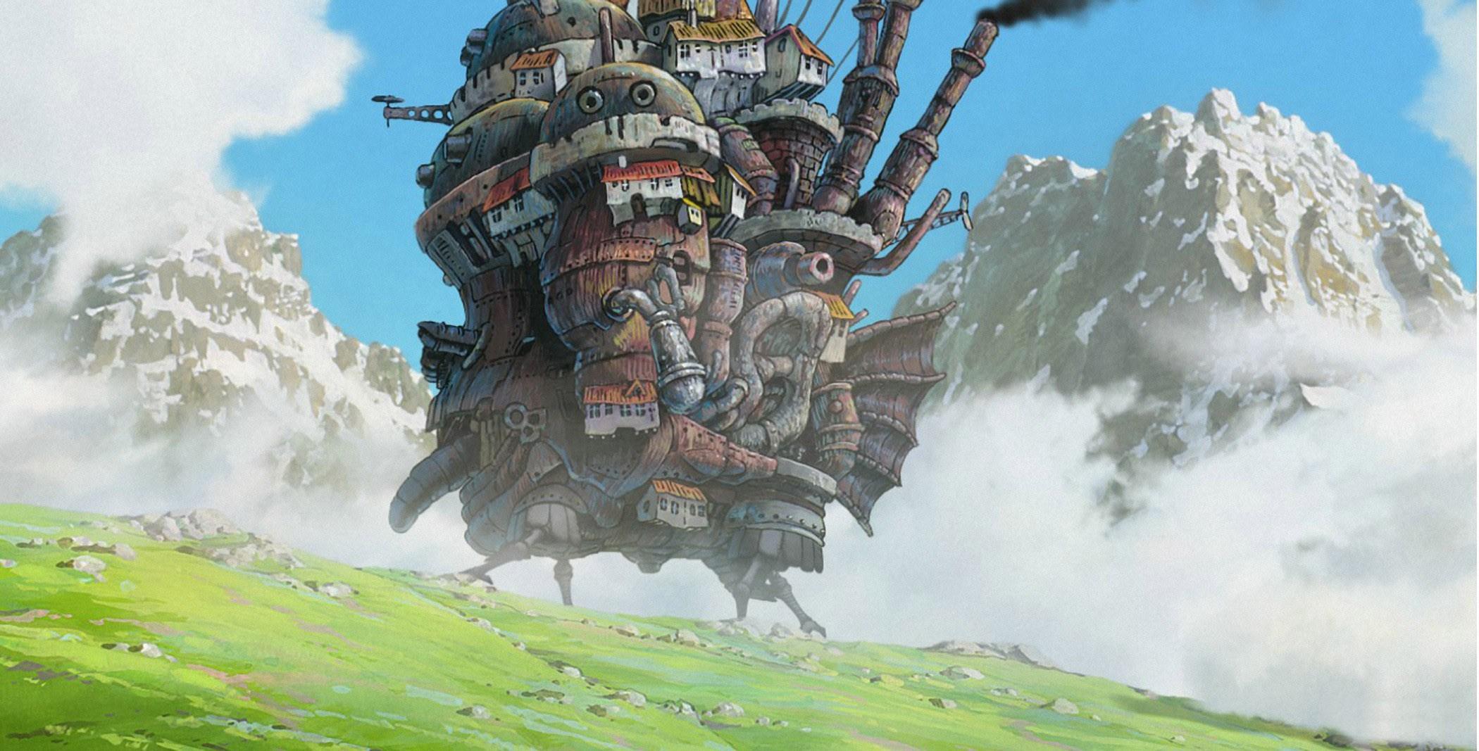 El castillo ambulante Miyazaki cine familiar infantil Modiband