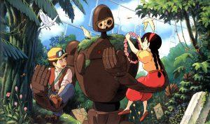 El castillo en el cielo Miyazaki cine familiar infantil Modiband
