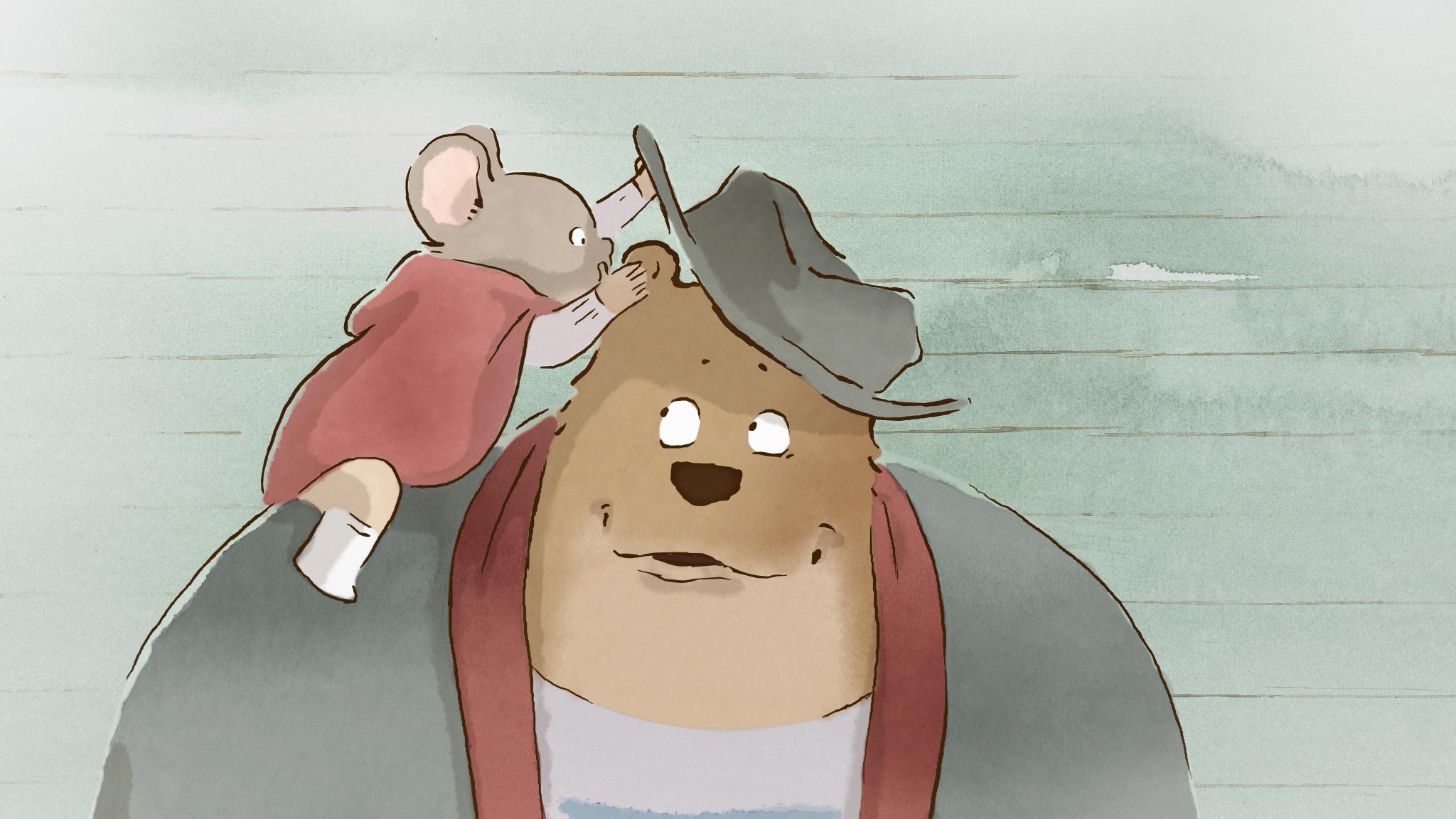 Ernest & Celestine cine familiar infantil Modiband